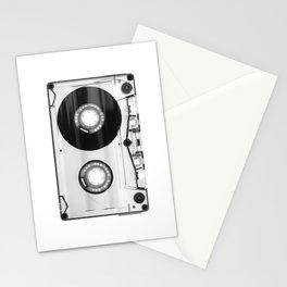 1980's Retro Black-White Vintage 80's Cassette Eighties Technology Art Print Home Decor Wall Decor Stationery Cards