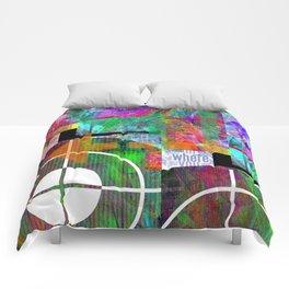 Abstracta No.2 Comforters