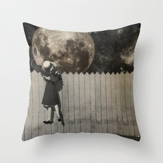 untitled Collection -- Backyard Throw Pillow