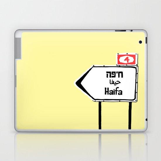 Haifa This Way Laptop & iPad Skin