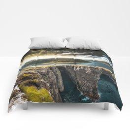 exploring faroe islands Comforters