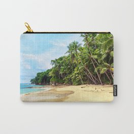 Tropical Beach - Landscape Nature Photography Carry-All Pouch