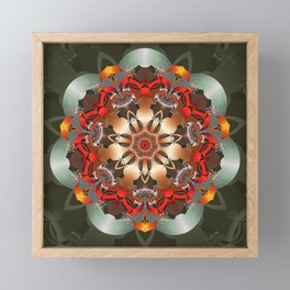 Enlighten Mandala Framed Mini Art Print