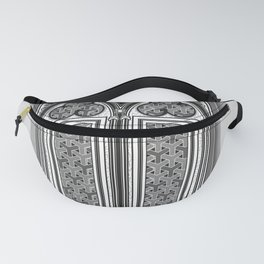 gothic window Fanny Pack
