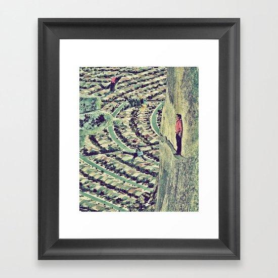 Balance Framed Art Print