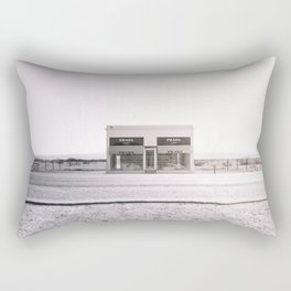 PradaMarfa - Black and White Version Rectangular Pillow
