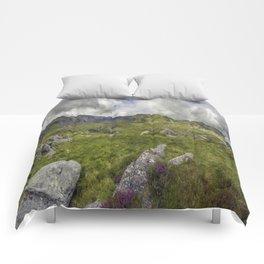 Glyderau Mountain Range Comforters