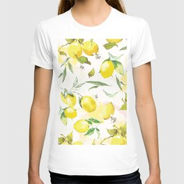 Watercolor lemons T-shirt
