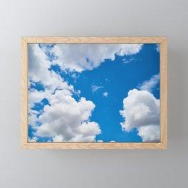 Clouds 3 Framed Mini Art Print