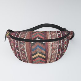 Afshar Khorjin Kerman South Persian Double Bag Print Fanny Pack