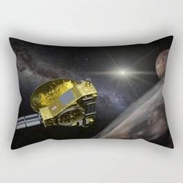 New Horizons space probe - Pluto flyby in action Rectangular Pillow