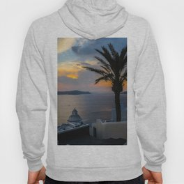Fira,sunset,Greece Hoody