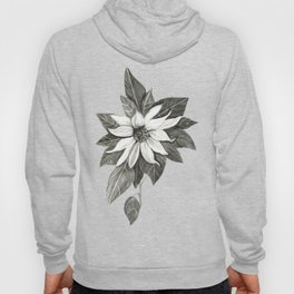 Florida Flower with Green Background Hoody