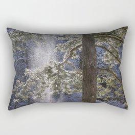 Shedding Snow Rectangular Pillow