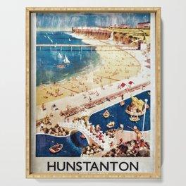 vintage poster Hunstanton Serving Tray