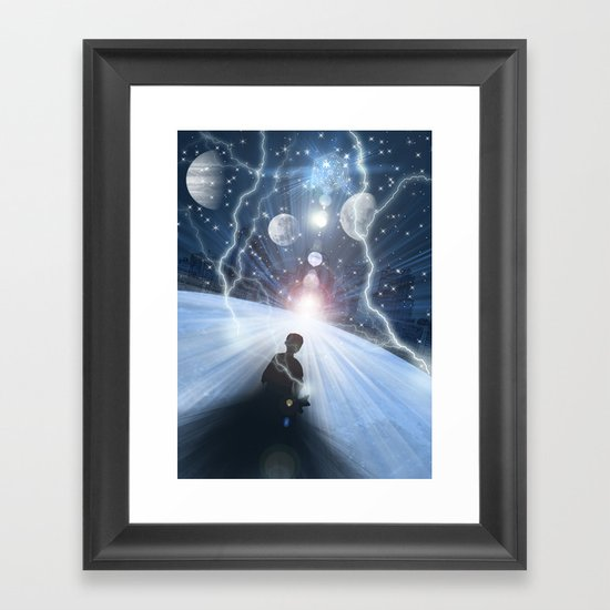 Final Act 3rd Dimension Framed Art Print