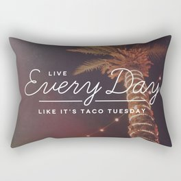 Taco Tuesday Rectangular Pillow