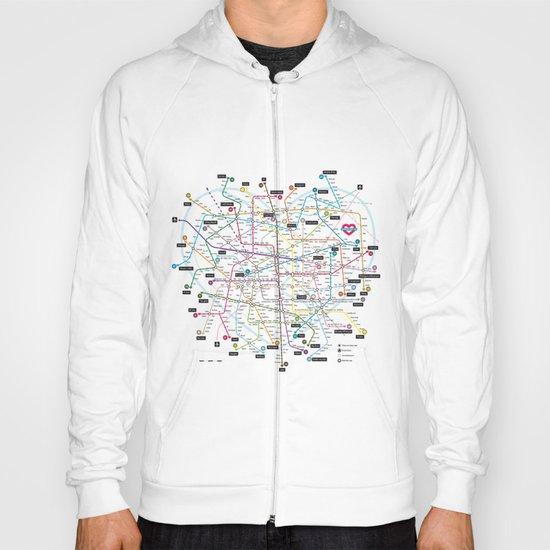 Love Map Hoody