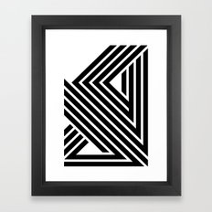 Starlines 01. Framed Art Print