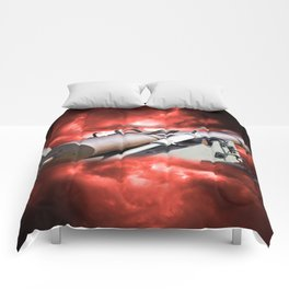Cannon and bombing Comforters