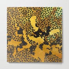 Abstract safari animal print Metal Print