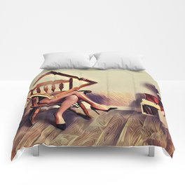 Disappearing Act Comforters