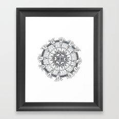 Melethalia-Flagellata-Leptomedusae Framed Art Print