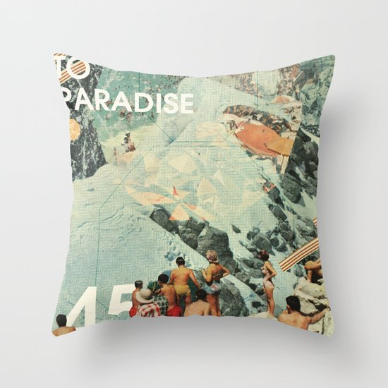 Since I Left You Throw Pillow