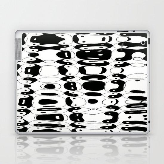 Yin Yang mix (w) Laptop & iPad Skin