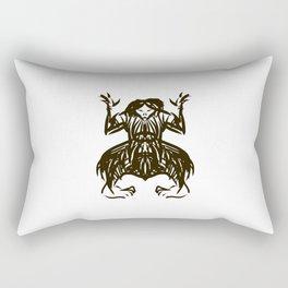 Shamanic travel (shaman walk) Rectangular Pillow