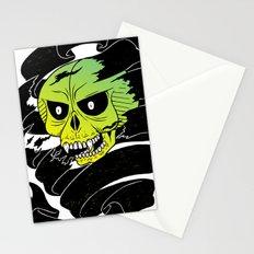 Bandaged Skull Stationery Cards