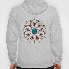 Crawfish Mandala Hoody