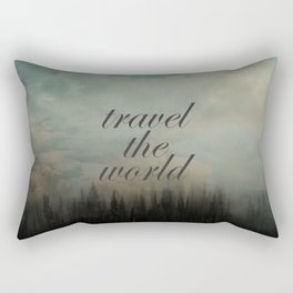 Travel the world Rectangular Pillow