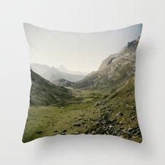Just silence Throw Pillow