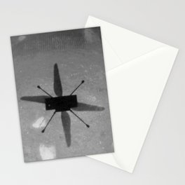 Nasa picture 21: first flight over Mars Stationery Cards