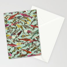 shark party summer Stationery Cards
