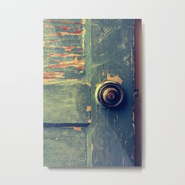 The Backdoor Metal Print
