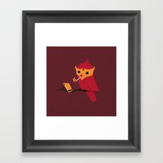 Accidental Legends: Phoenix Framed Art Print