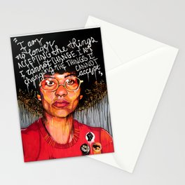 Angela Davis Stationery Cards
