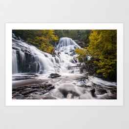The magic Waterfalls Art Print