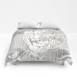 Freddy Krueger by Aaron Bir Comforters