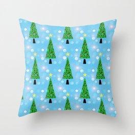 Christmas Repeat Throw Pillow