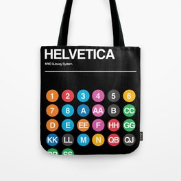 Hevletica and the NYC Subway Tote Bag