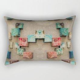 Toppled Ceramic Tiling 1 Rectangular Pillow