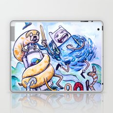 Finn, Jake and the Crook Laptop & iPad Skin
