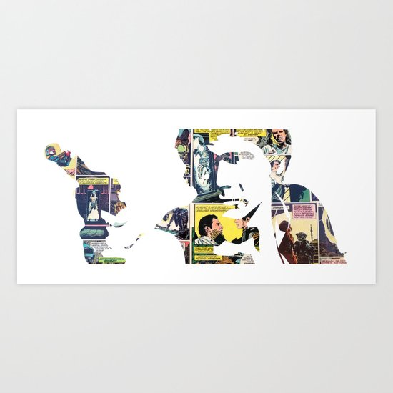 Han Shot First Art Print