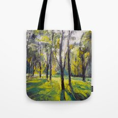 Pontefract Park at Sunset Tote Bag