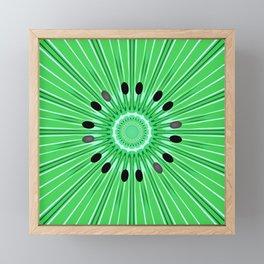 Digital art kiwi Framed Mini Art Print