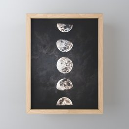 Mistery Moon Framed Mini Art Print