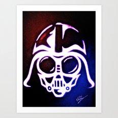 American Baby Vader Art Print